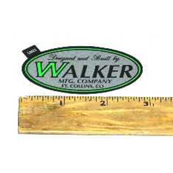 Walker DECAL, WALKER MFG./LE