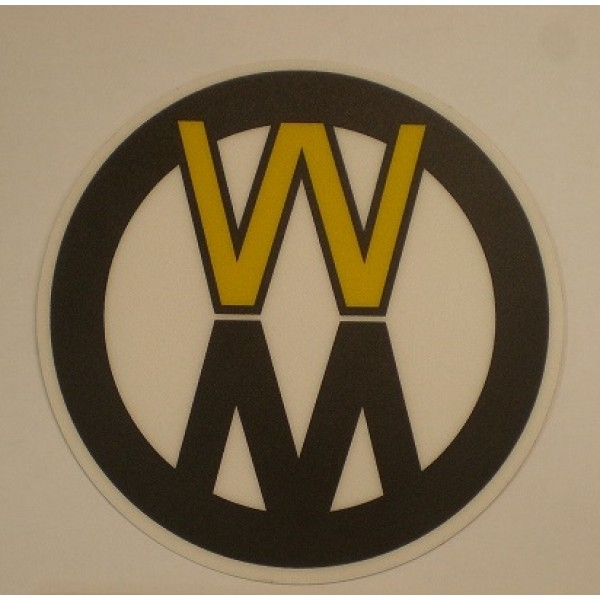 Walker DECAL, WALKER MOWER/L