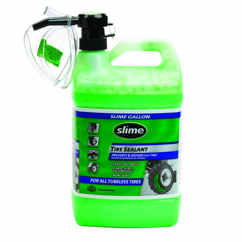 Slime Tire Sealant 1 Gallon Jug With Pump SB1G