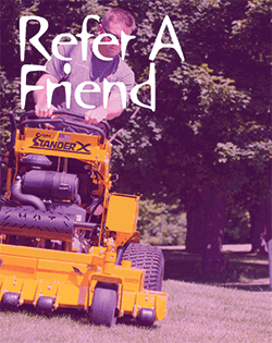 Refer a friend for more Savings