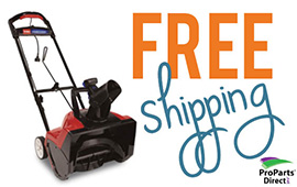 Toro Electric Snowblower Free Shipping