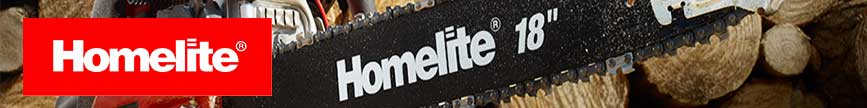 Homelite Logo Indicating you can buy Parts Here