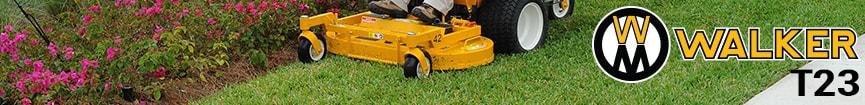 Walker Mower T23 Parts 2013 To 2015