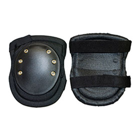 ERB 14758 Hard Knee Pads, Black