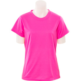 Pink Short Sleeve Safety Shirt 61288-E