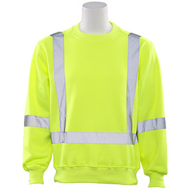 Crew Neck Safety Sweatshirt 62000E