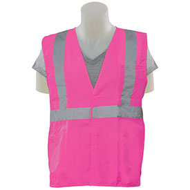 Non-ANSI Pink Breakaway Safety Vest 62228E
