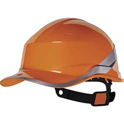 ABS Safety Helmet Orange Safety Helmet