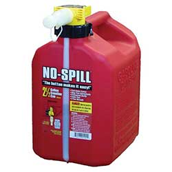 No Spill Gas Can 2.5 gallon 765-102