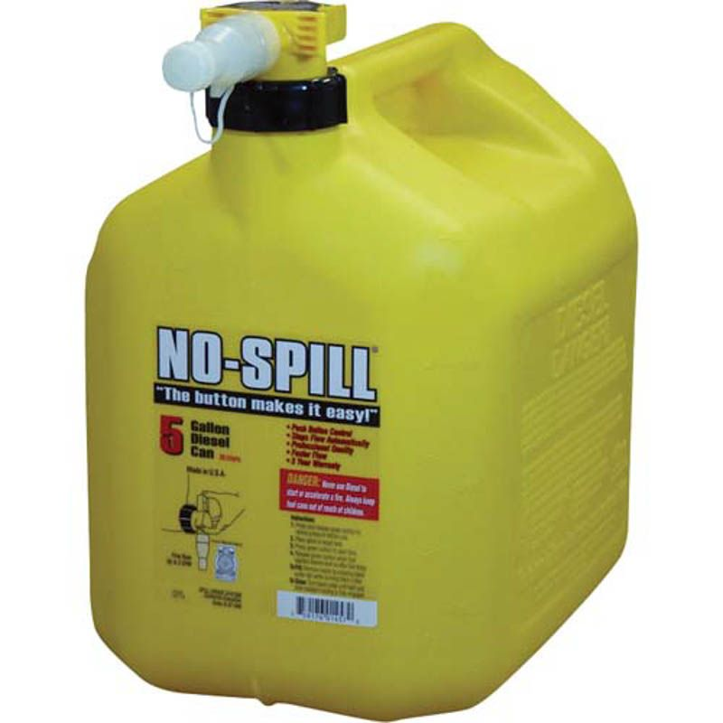 No-Spill 5 Gallon Diesel Can 1457