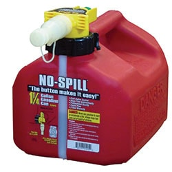 No-Spill Gas Can 1.25 Gallon 1415