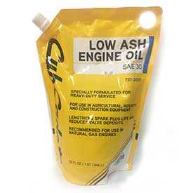 Low Ash Oil SAE30 737-3029