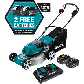 "XML03PT1 Makita 18"" Lawn Mower Kit"