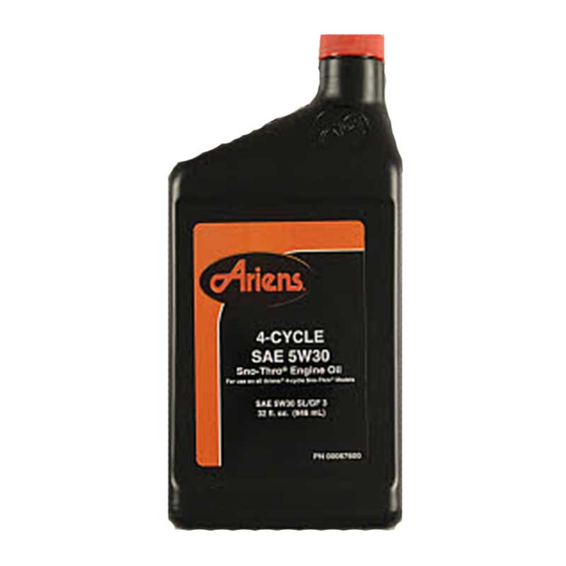 Ariens Snowblower Oil 00067600 5w 30 32 Oz Bottle