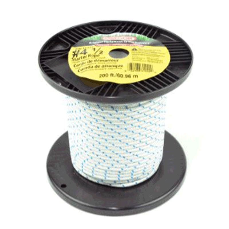 Spool of # 4.5 Rope 200ft Fits Briggs &Stratton 31-242