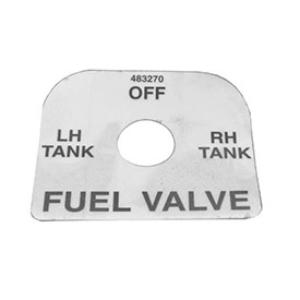 Decal, Fuel Shut Off 483270
