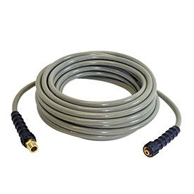 "Simpson 41107 Morflex 1/4"" Cold Water Hose with Adaptor"
