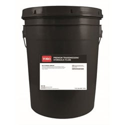 Toro 108-1184 Premium Transmission Hydraulic Fluid 5 Gallon Pail of Mobile 424 Fluid