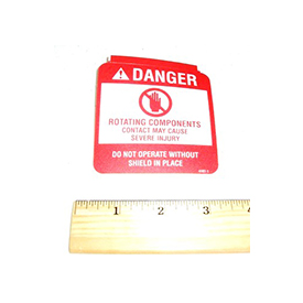 Walker 4107-1 (Nr) Decal, Danger