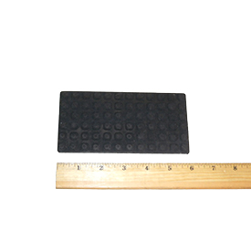 Walker RUBBER MAT, NO HOLE