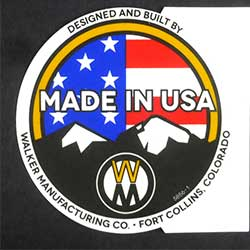 Walker 5856-1 (Nr) Decal, Made In Usa