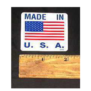 Walker DECAL, MADE IN USA
