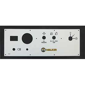 Walker 8820-5 Panel Faceplate W/Decal Mt23