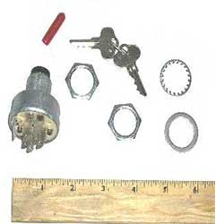 Walker IGNITION SWITCH W/KEY