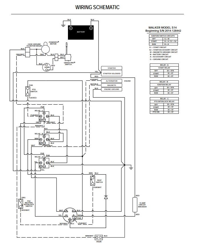 walker mower wiring schematics walker ms 2014 wiring schematic propartsdirect  walker ms 2014 wiring schematic