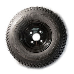 Z-Spray 135-8621 Tire/Rim Asm, K500-4H-Blk-80022