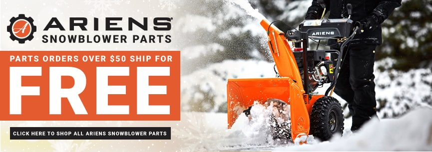 Ariens snowblower parts for compact, pro, deluxe and sno tek snowblowers