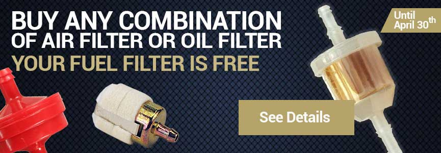Oil Filter and Air Filter Combo Deal