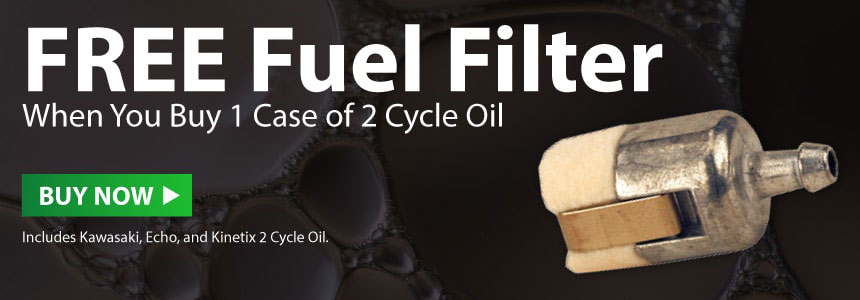 2 cycle Fuel Filter and oil deal