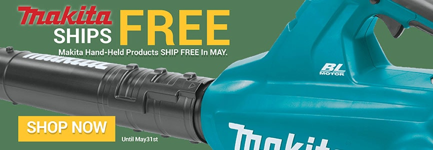 Makita Free Shipping promotion in May