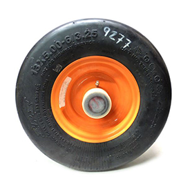 Flat Free Caster Tire & Wheel Assembly